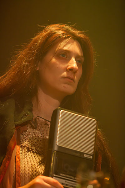 Elissa Levitt in The Catastrophic Theatre production of Anna Bella Eema. Photo by Anthony Rathbun.