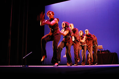 Step Afrika! Photo by The Napoleon Complex Project.