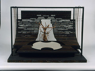 Timothy O'Brien Tazeena Firth Maquette for The Bassarids ca. 1974