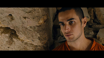 Adam Bakri in a scene from Omar (2013). Photo courtesy Adopt Films.
