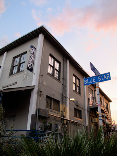 Blue Star Contemporary Art Museum, the longest-running contemporary-art venue in San Antonio, will celebrate its history at its Back to the Future gala Nov. 16.  Photo by Elizabeth Lyons.