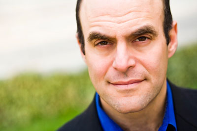 Screenwriter & NPR radio host Peter Sagal.  Photo courtesy ERJCC.