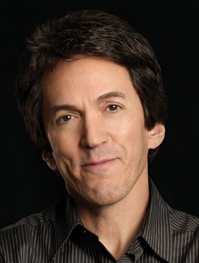 Author of The First Phone Call from Heaven Mitch Albom.  Photo by Jenny Risher.