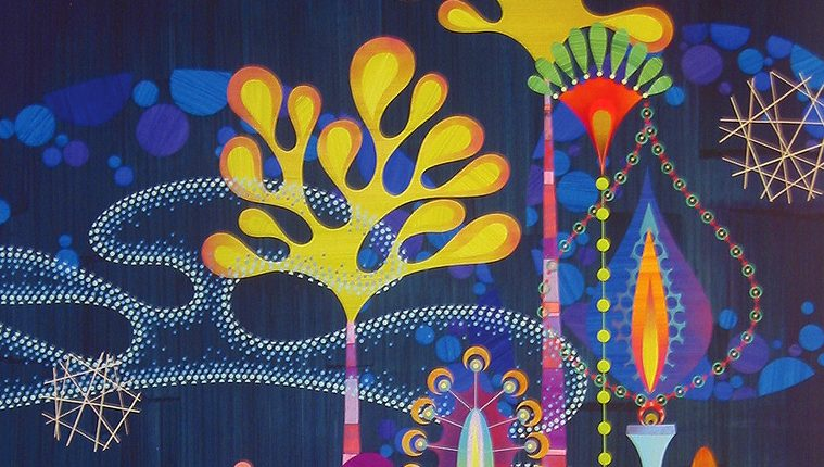 Colorful World Of Artist Rex Ray