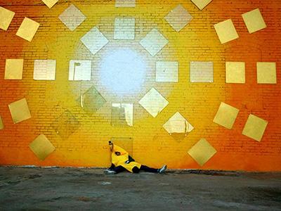 "Video Still from ""La Route,"" filmed in Deep Ellum in 2010. Image courtesy of Luis Fernando Midence."
