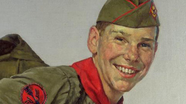 News:  Rockwell and the Scouts