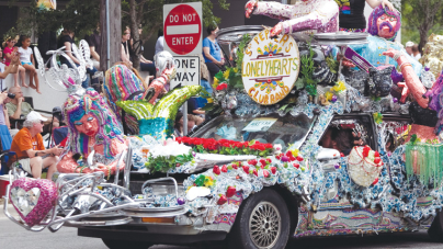High Art and Low Riders: Art Car Parade at 25
