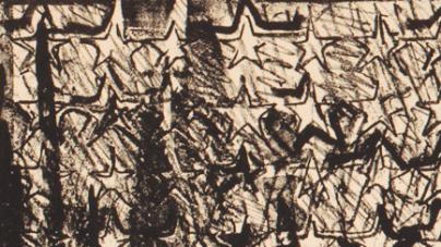 Review:  Jasper Johns, Two Flags & Prints