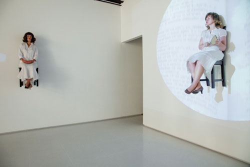 Still from Medium, live performance at Art Palace, August 2012. Photo by Matthew Weedman.