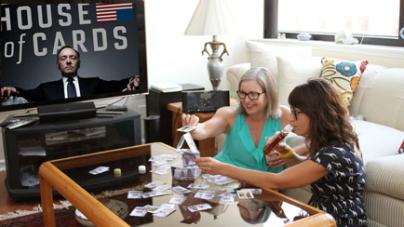 Abby + Nancy Skip Gatsby for House of Cards