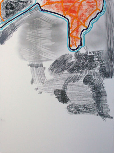 Michael Blair, untitled, 2013. Oil and graphite on canvas. Courtesy of the artist and Cohn Drennan Contemporary.