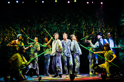 The Peter and the Starcatcher Tour Company; Photo by Jenny Anderson.