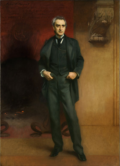 John Singer Sargent (1856-1925).  Edwin Booth, 1890.  Oil on canvas.  Amon Carter Museum of American Art, Fort Worth.