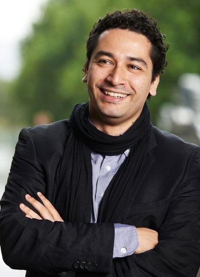 Houston Symphony Conductor Andres Orozco-Estrada.  Photo by Martin Sigmund.
