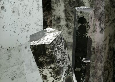 Installation view of Megan Harrison: Atramentite at Sala Diaz. Courtesy photo.