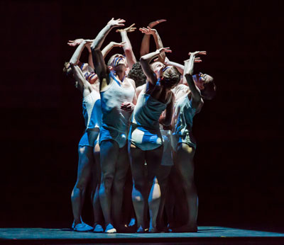 Ballet Austin in Stephen Mills' Light / The Holocaust & Humanity Project.  Photo by Tony Spielberg.