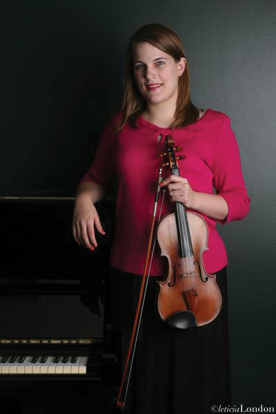 Caroline Ewan turned a school project into the newly-formed Cypress Symphony.  Courtesy photo.