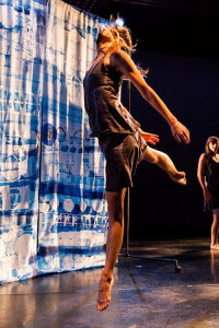 Chapman Dance's Shifting Spaces – Photo by Lynn Lane.