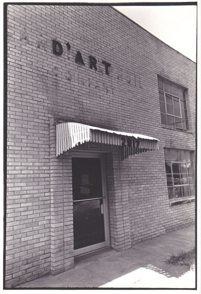 Dallas Contemporary's old pill-factory building at 2917 Swiss Ave, as seen in 1981. Courtesy of Dallas Contemporary.