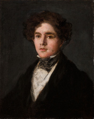 Francisco José de Goya y Lucientes (1746-1828), Portrait of Mariano Goya, the Artist's Grandson, 1827, oil on canvas. Meadows Museum, SMU, Dallas. Museum Purchase with Funds Donated by The Meadows Foundation and a Gift from Mrs. Eugene McDermott, in honor of the Meadows Museum's 50th Anniversary, MM.2013.08. Photo by Dimitris Skliris