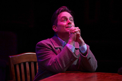 Martin Burke in the ZACH Theatre's production of This Wonderful Life. Photo by Kirk Tuck.