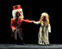 Kathy Burks Theatre of Puppetry Arts production of The Nutcracker Photo by Karen Almond.