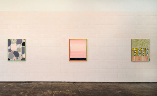 Installation view of Melissa Thorne: A Wall Around a Window at Devin Borden Gallery. Photo: Logan Beck Photography.