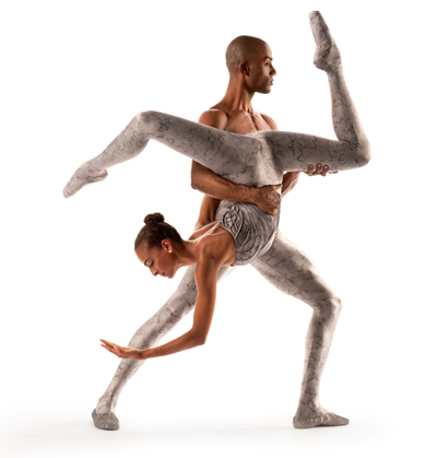 Dance Theatre of Harlem's Gabrielle Salvatto and Anthony Savoy.  Photo by Rachel Neville.