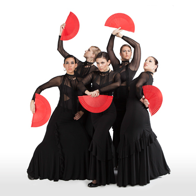A'lante Flamenco Dance Ensemble premieres Prophecies in January at Austin's Rollins Studio Theatre at the Long Center for the Performing Arts.  Photo by Estrella Chacon.