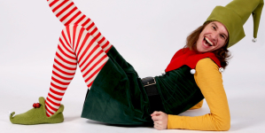 Acting in Texas: Garret Storms on Santaland Diaries