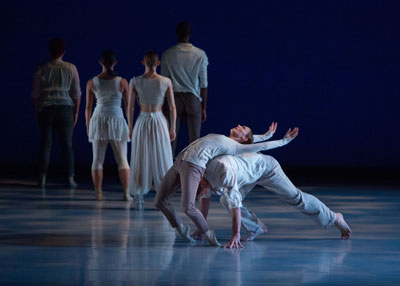 The Houston Met Dance Company in Laura Edson's After The Rain.  Photo by Ben Doyle, Runaway Productions.