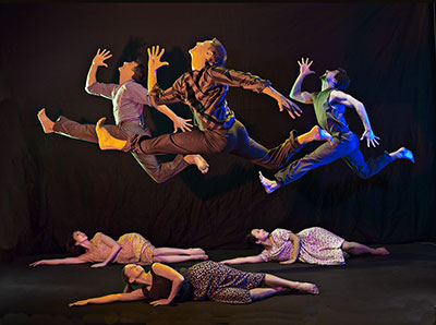 Carolyn Dorfman Dance Company  CatsCradle   Photo by Tom Caravaglia.