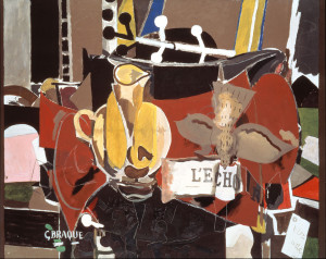 Georges Braque, L'Echo, 1956, oil on canvas, Nahmad Collection, Switzerland. © 2014 Artists Rights Society (ARS), New York / ADAGP, Paris