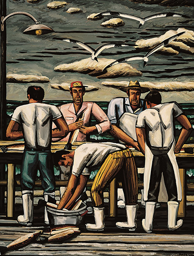 David Bates, Cleaning Table.
