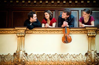 The Elias String Quartet.