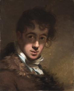 Thomas Sully American, born England, 1783–1872 Self-Portrait, 1807 Oil on panel; 17 x 14 1/4 in. Wadsworth Atheneum Museum of Art Bequest of Daniel Wadsworth, 1848.1