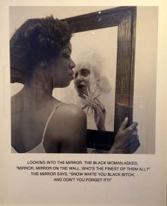 Carrie Mae Weems Mirror, Mirror, 1987 Gelatin silver print Guillermo Nicolas and James C. Foster Collection
