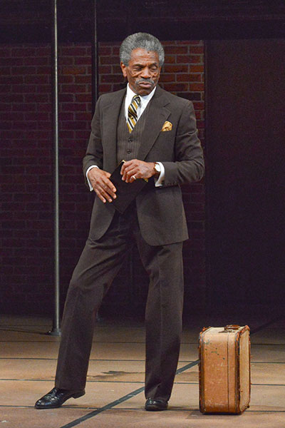 Dallas Theater Center's The Fortress of Solitude.  Andre De Shields. Photo by Karen Almond.