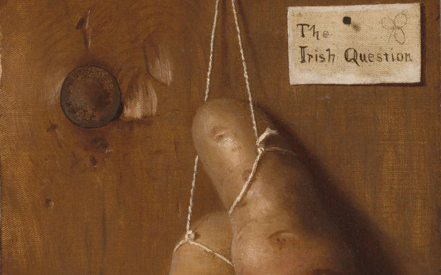 De Scott Evans The Irish Question detail