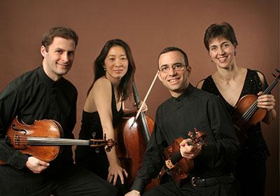 ARTS SA presents the Brentano String Quartet on April 6.  Photo by Peter Schaaf.