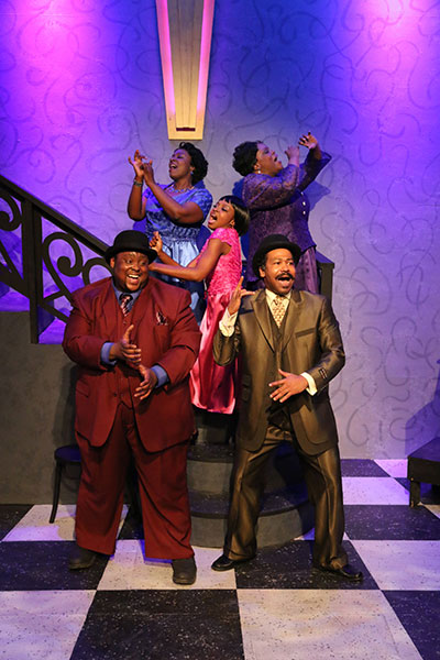 Jubliee Theatre's production of Ain't Misbehavin' Photo by Buddy Myers.