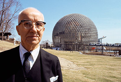 Fusebox Festival presents The Love Song of R. Buckminster Fuller with Sam Green + Yo La Tengo on April 17.  Photo courtesy of the artist.