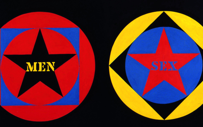 Robert Indiana Under the Influence