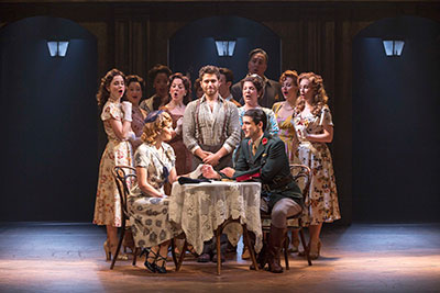 Josh Young as Che and touring cast of Evita - photo by Richard Termine.jpg