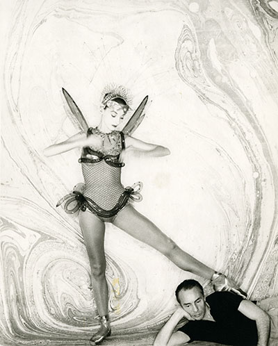 Metaphorphoses, Tanaquil Le Clercq and George Balanchine.  Photo courtesy Kino Lorber, Inc.