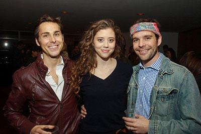 Brandon Weinbrenner, Nicole Rodenburg and Michael Bakkensen. Photo courtesy of the artist.