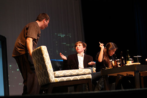 Alvin High School's one act play.