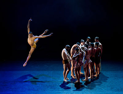 Society for the Performing Arts presents Alonzo King LINES Ballet on May 9.  Photo by RJ Muna.