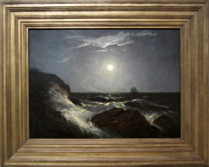 Edward M. Bannister, Moonlight Marine, 1885. Virginia Museum of Fine Arts. Photo: Devon Britt-Darby