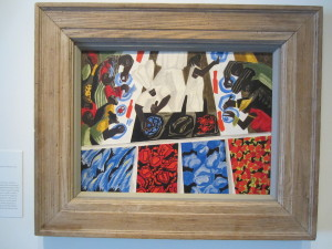 Jacob Lawrence, Catfish Row, 1947. Virginia Museum of Fine Arts. Photo: Devon Britt-Darby